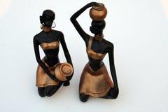 Donne tribali antiche Immagini Stock