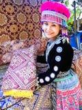 Donne tribali in Tailandia Immagine Stock Libera da Diritti
