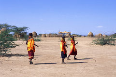 Donne Turkana (Kenia) Fotografia Stock Libera da Diritti