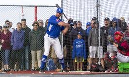 Donne un coup de pied les ressortissants supérieurs de Men's de Canada de base-ball photo stock