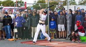 Donne un coup de pied les ressortissants supérieurs de Men's de Canada de base-ball photographie stock