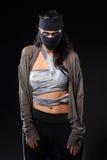 Donne vestite con differenti progettazioni come donne del guerriero Fotografie Stock Libere da Diritti