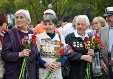 Donne - veterani della seconda guerra mondiale Fotografia Stock Libera da Diritti