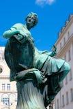 Donner Brunnenstatue Stockbilder