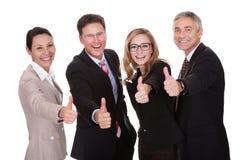 Donner de cadres commerciaux pouces  photo libre de droits