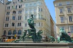 Donner Fountain, Vienna, Austria Royalty Free Stock Photos