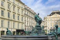 Donner Fountain, Vienna Stock Photo