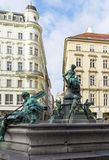 Donner Fountain, Vienna Stock Image