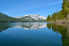 Donner jezioro 4 Obrazy Royalty Free