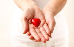 Donner l'amour Photographie stock libre de droits