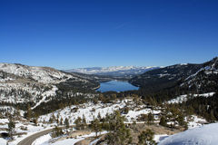 Donner Lake Stock Image