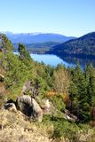 Donner Lake, California Royalty Free Stock Photos