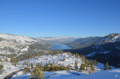 Donner Lake Overlook Royalty Free Stock Image