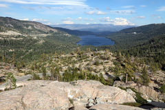 Donner Lake, Truckee, California Royalty Free Stock Images