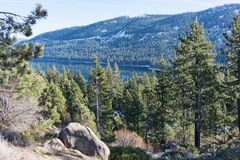 Donner Lake Royalty Free Stock Photo