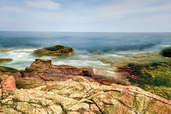 Donner-Loch - Acadia-Nationalpark Lizenzfreie Stockfotografie