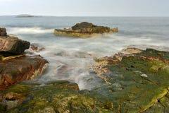 Donner-Loch - Acadia-Nationalpark Lizenzfreies Stockfoto
