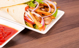 Donner meal Stock Images