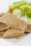Donner Meat & Salad Stock Photos