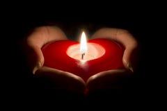 Donner mon coeur Image libre de droits