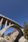 Donner Pass Bridge Blue Royalty Free Stock Photography
