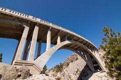Donner Pass Rainbow Bridge Royalty Free Stock Images
