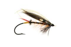 Donner und Blitz Salmon Fly Stockbild