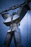 Donnernder Roboter   Lizenzfreies Stockbild