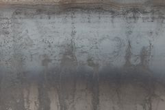 Donnez à la feuille une consistance rugueuse du fer avec une surchauffe, traces de rouille images libres de droits