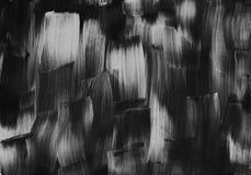 Donnez à la peinture une consistance rugueuse noire et blanche d'illustration de conception d'art d'abstraction photo stock