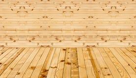Donnez au fond une consistance rugueuse de la pièce intérieure fait en en bois photos libres de droits