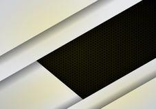 Donnez au fond une consistance rugueuse noir blanc de couche illustration stock