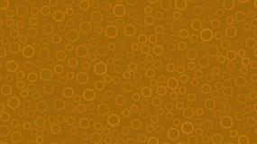 Donnez au modèle une consistance rugueuse sans couture des chapeaux de bière découpés par résumé rond jaune en métal avec des tra illustration stock