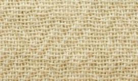 Donnez au tissu une consistance rugueuse de toile de coton Images stock