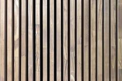 Donnez aux rayures une consistance rugueuse verticales en bois Arbre naturel de fond avec les rayures noires images libres de droits