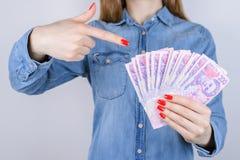 Donnez le mont de piété d'intérêt de crédit d'impôt de facture gagnent l'investm d'investisseur d'atmosphère photo libre de droits