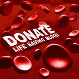 Donnez le sang illustration de vecteur