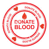 Donnez le sang illustration stock