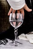 Donnez-moi un verre de l'eau Photo stock