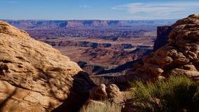 Donnez sur chez Mesa Arch photos stock