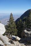 Donnez sur du Palm Springs, bâti San Jacinto State Park Photos libres de droits