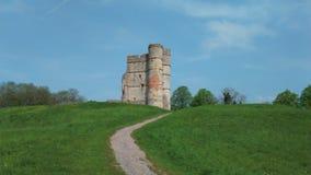 Donnington城堡 库存照片