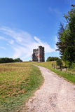 Donnington Schloss in England Lizenzfreies Stockbild
