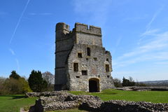 Donnington slott - Newbury Arkivfoto