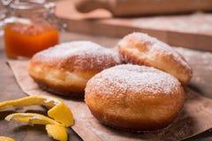 Donnuts de Krapfen Photographie stock libre de droits