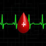 Donor blood Royalty Free Stock Photo