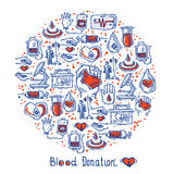 Donor Icons Circle Royalty Free Stock Photos