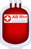 Donor tinned blood Royalty Free Stock Photos