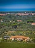 Donoratico, Castagneto Carducci, Λιβόρνο - Τοσκάνη Στοκ εικόνα με δικαίωμα ελεύθερης χρήσης