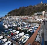 Donostia,圣塞瓦斯蒂安,比斯开湾,巴斯克地区,西班牙,欧洲 库存图片